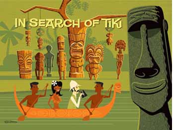 In Search of Tiki, art by Shag