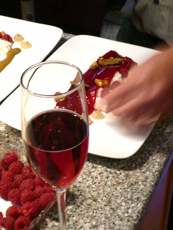 Raspberry Goat S Milk Red Pepper Taffy Pistachio