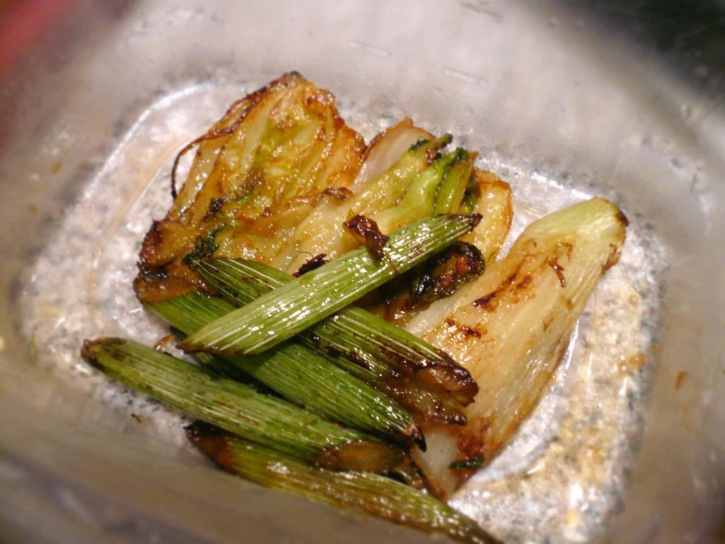 Glazed fennel