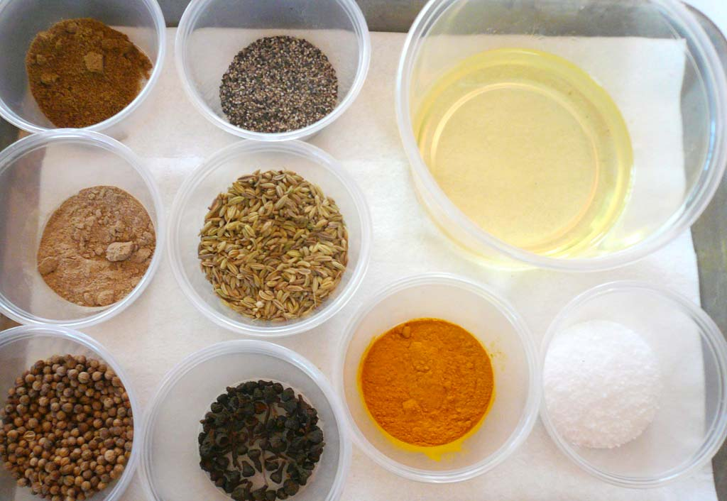 Spices for lamb rillettes