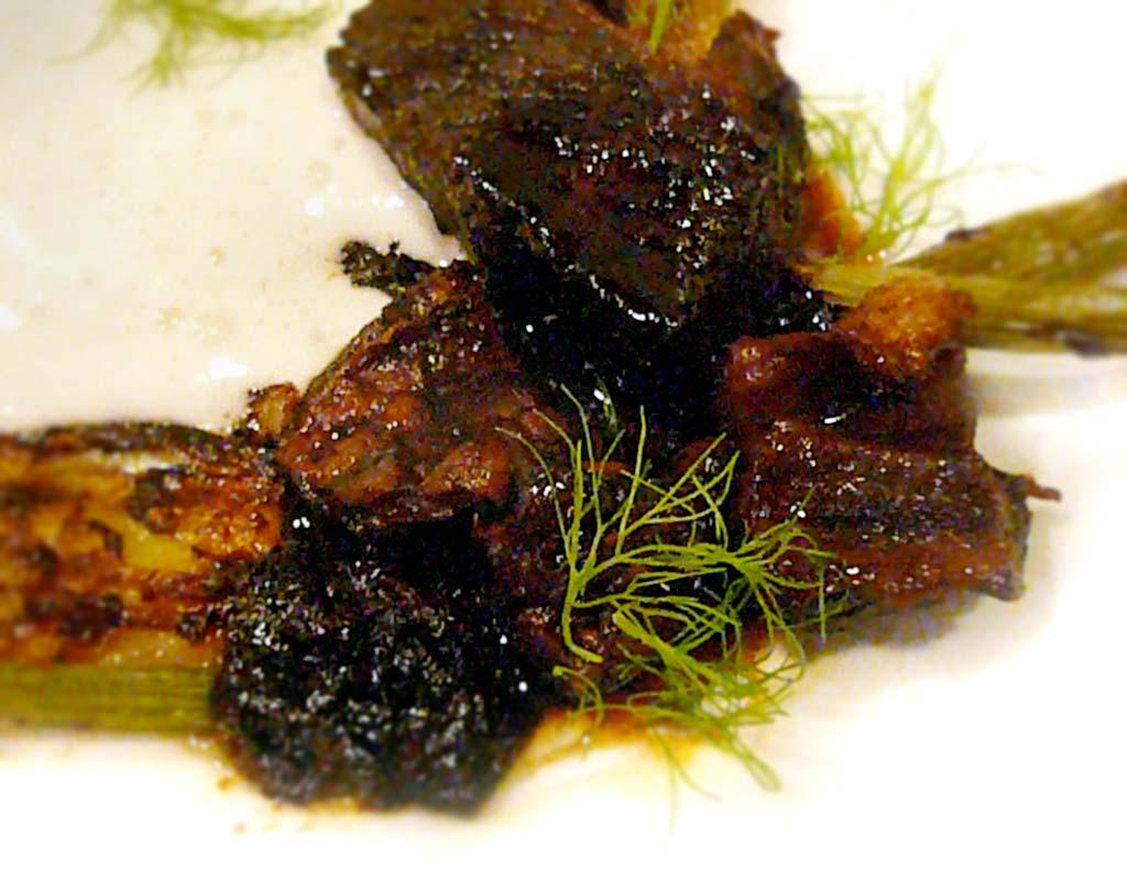 Alinea Restaurant recipe for BEEF, Elements of Root Beer
