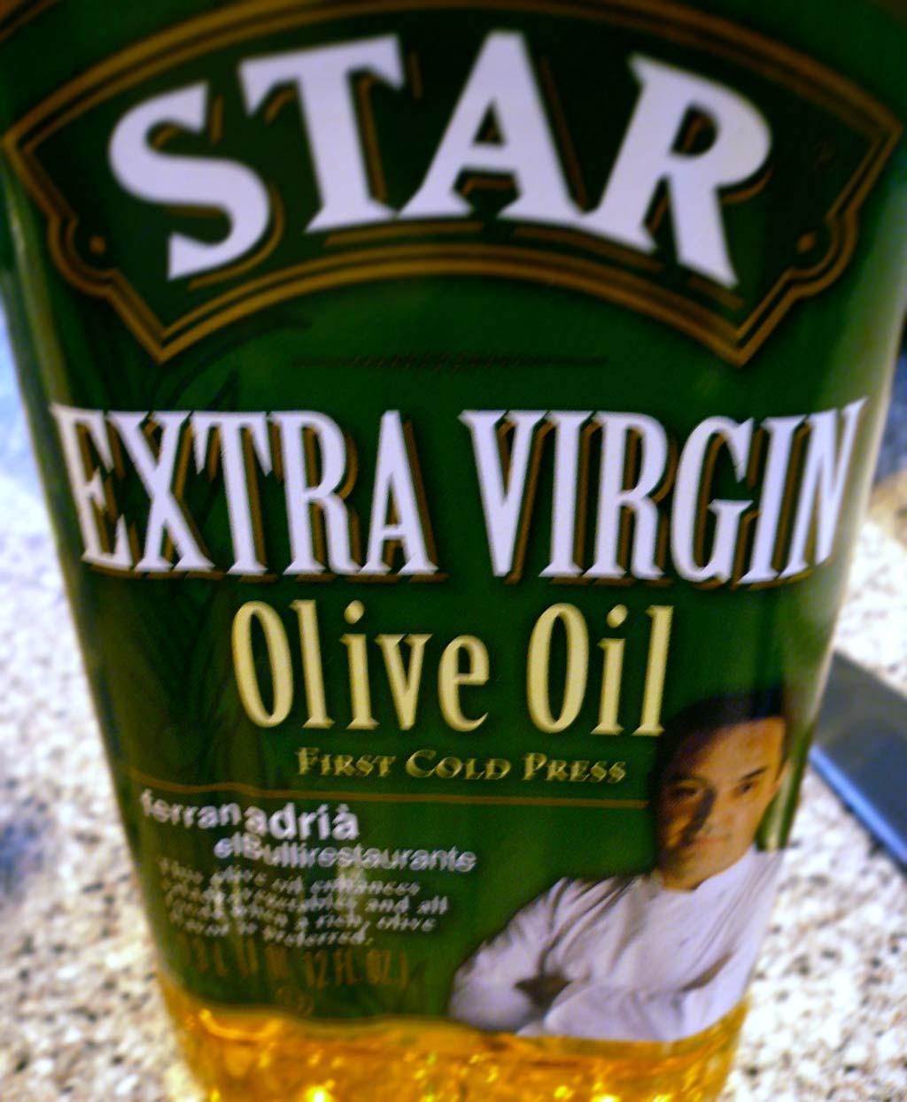 Star Brand EVOO is endorsed by Ferran Adria