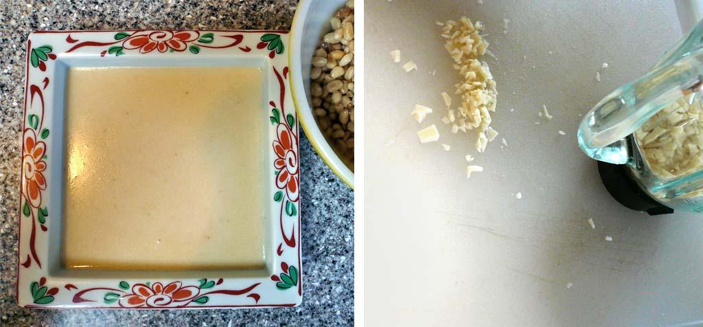 pine nut pudding