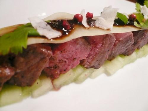 Alinea Wagyu beef recipe