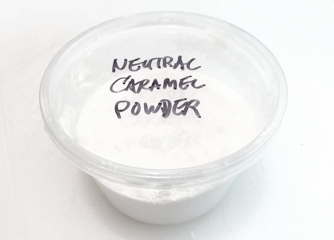 neutral caramel powder